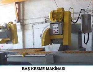 BAŞ KESME MAKİNASI